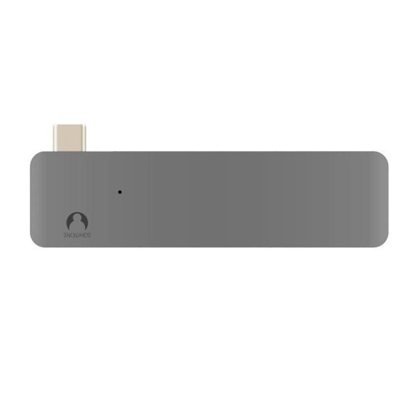 Cổng Chuyển Đổi Type-C Dành Cho Laptop/ MacBook Pro - Xám