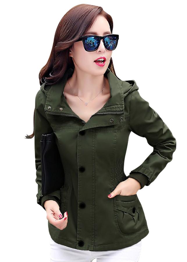 Áo khoác kaki nữ có nón AK30 - 2229392 , 6670156915639 , 62_14307439 , 360000 , Ao-khoac-kaki-nu-co-non-AK30-62_14307439 , tiki.vn , Áo khoác kaki nữ có nón AK30