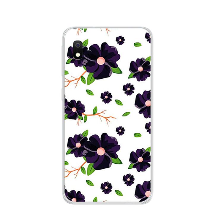 Ốp lưng dẻo cho điện thoại Samsung Galaxy A10 - 0187 FLOWER2 - Hàng Chính Hãng