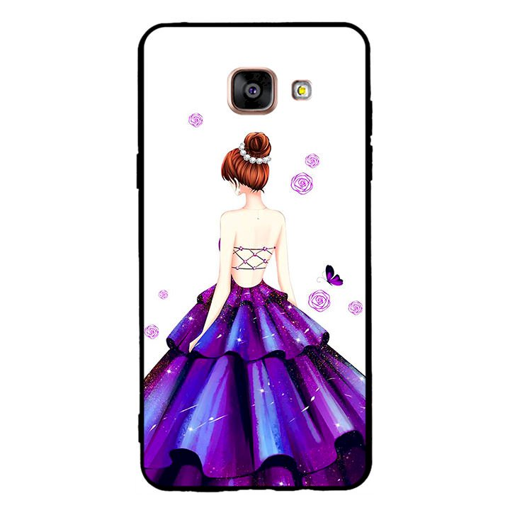 Ốp lưng viền TPU cho điện thoại Samsung Galaxy A5 2016 - Girl 06