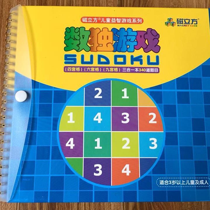 Sudoku 3 cấp độ cho bé từ 3 tuổi