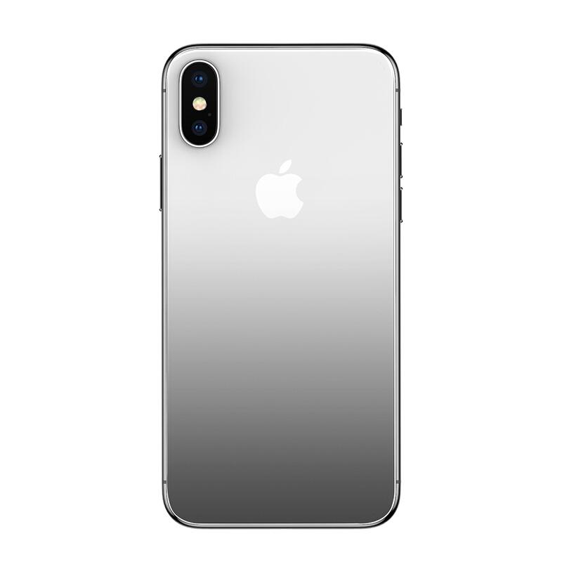 Kính Bảo Vệ Lưng iPhoneX/10 Chịu Nhiệt Baseus APPLE X - Đen