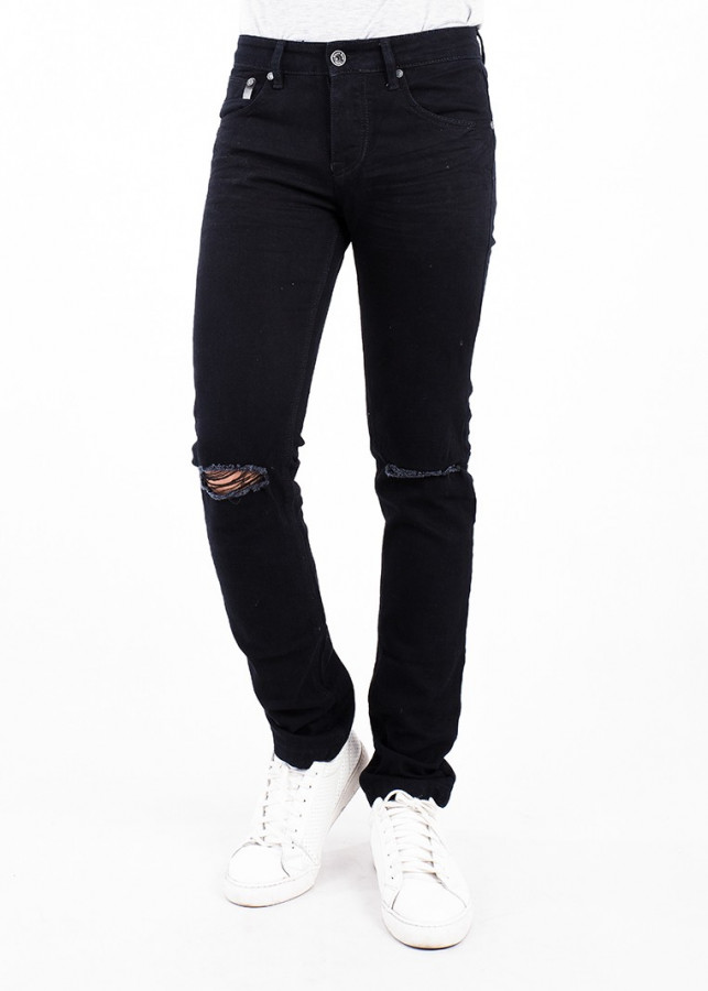 Quần Jeans Nam Skinny - A91 JEANS 182 (Đen)