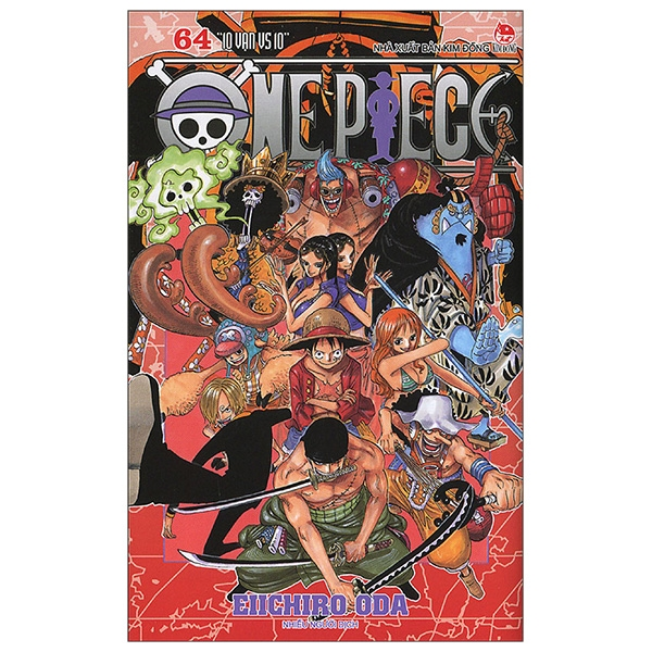 One Piece Tập 64: 10 Vạn Vs 10 (Tái Bản 2019)