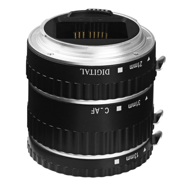 Auto Focus AF Macro Extension Tube/Ring Set Lens Adapter For Canon EOS automatic