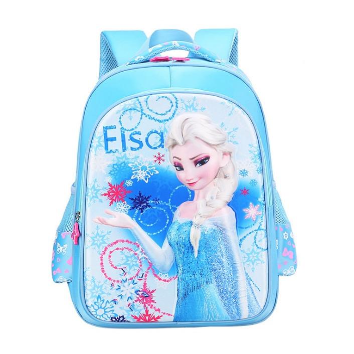 Ba lô học sinh hình Elsa nổi 3D xinh yêu cho bé gái - 1039584 , 6766764383158 , 62_6236227 , 245000 , Ba-lo-hoc-sinh-hinh-Elsa-noi-3D-xinh-yeu-cho-be-gai-62_6236227 , tiki.vn , Ba lô học sinh hình Elsa nổi 3D xinh yêu cho bé gái