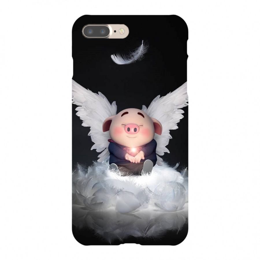 Ốp lưng bảo vệ điện thoại iPhone hình heo con tinh nghịch - Heocon0009