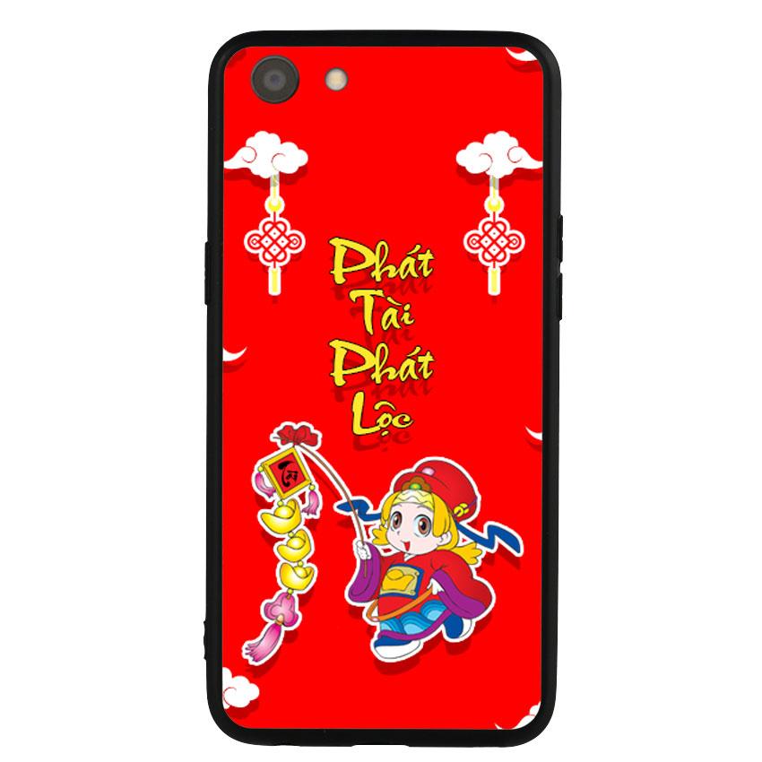 Ốp Lưng Viền TPU cho điện thoại Oppo A83 -Thần Tài 03