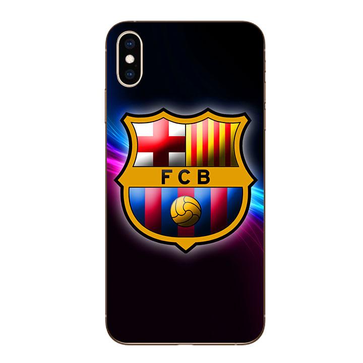 Ốp lưng dẻo cho Iphone XS Max - Clb Barcelona
