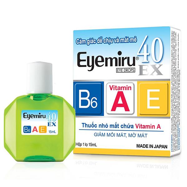 Thuốc Nhỏ Mắt Eyemiru 40EX