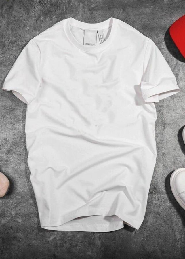 Áo Thun Thời Trang Basic  Simple ngắn tay cổ tròn UNISU - Màu Trắng