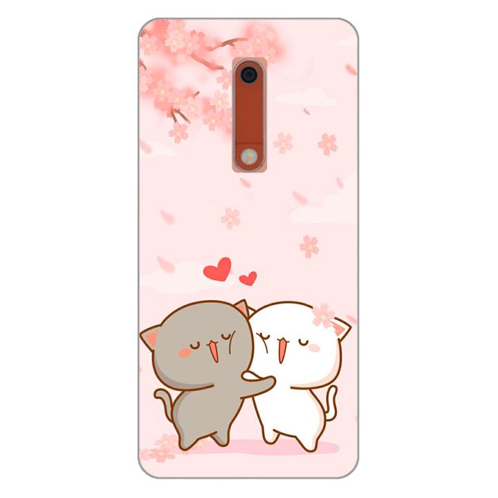 Ốp lưng dẻo cho điện thoại Nokia 5_0509 LOVELY05 - Hàng Chính Hãng