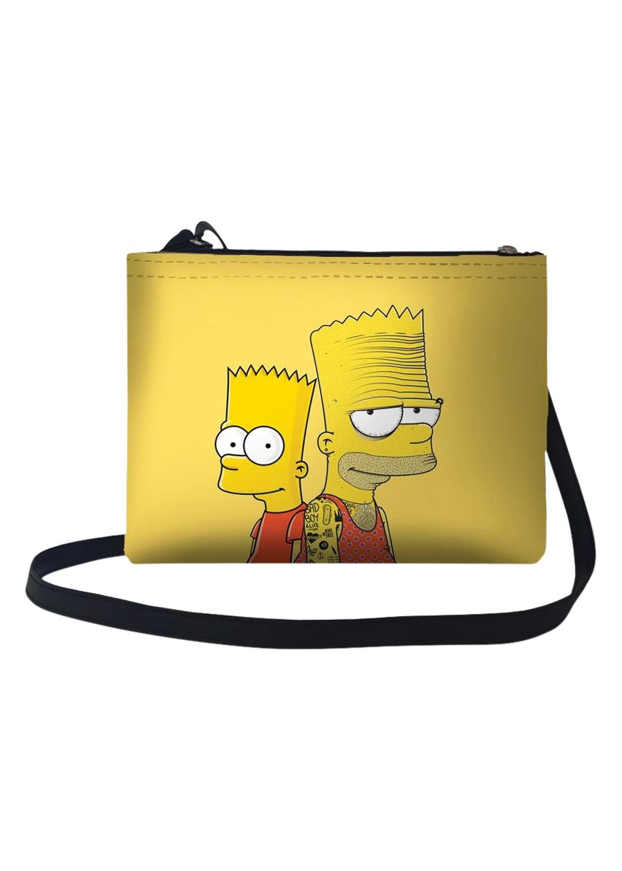 Túi Đeo Chéo Nữ In Hình 2 Thế Hệ Simpsons TUFF086