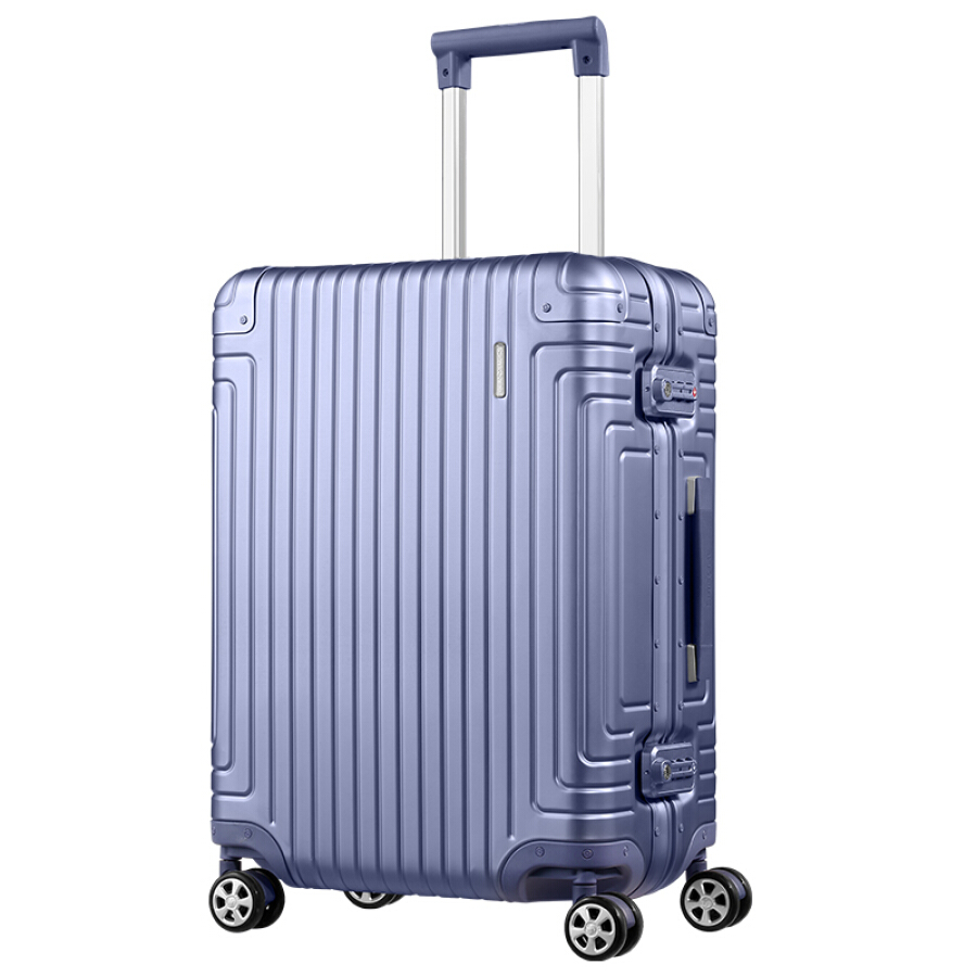 Samsonite RAYDIEN aluminum-magnesium alloy box universal aircraft wheel men and women travel trolley case can carry baggage box DB3*09002 23...