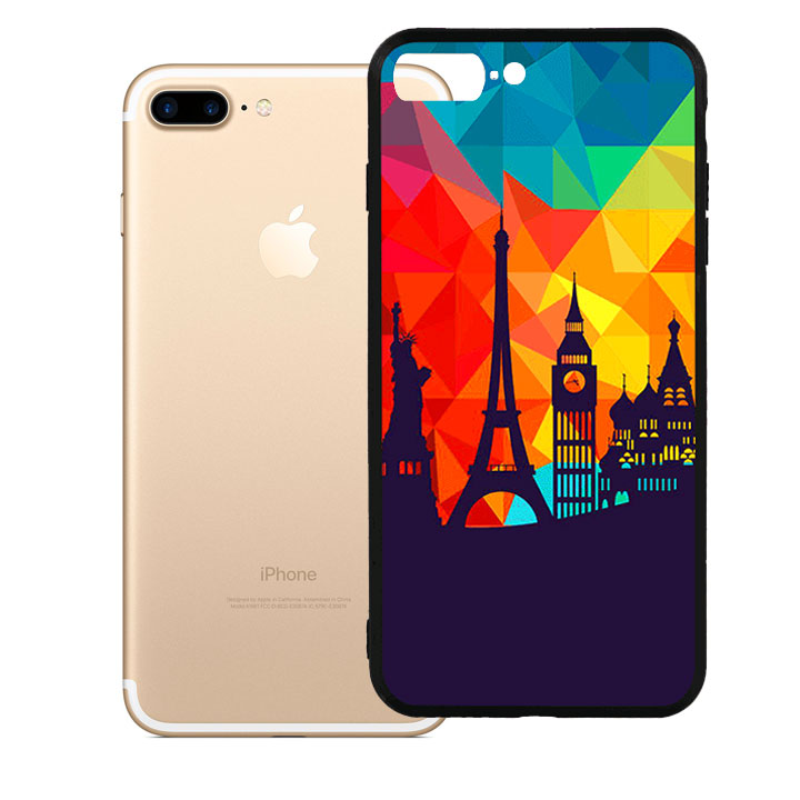 Ốp lưng viền TPU cao cấp dành cho iPhone 7 Plus - Travelling - 9460018 , 7402685904230 , 62_19308545 , 200000 , Op-lung-vien-TPU-cao-cap-danh-cho-iPhone-7-Plus-Travelling-62_19308545 , tiki.vn , Ốp lưng viền TPU cao cấp dành cho iPhone 7 Plus - Travelling