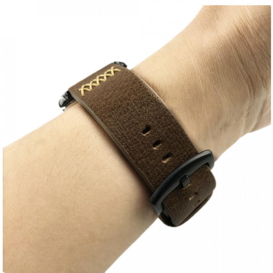 Dây da đồng hồ Apple Watch, dây da Handmade 05 khóa thép không gỉ cho Apple Watch - 843977 , 7536440012172 , 62_13409227 , 390000 , Day-da-dong-ho-Apple-Watch-day-da-Handmade-05-khoa-thep-khong-gi-cho-Apple-Watch-62_13409227 , tiki.vn , Dây da đồng hồ Apple Watch, dây da Handmade 05 khóa thép không gỉ cho Apple Watch