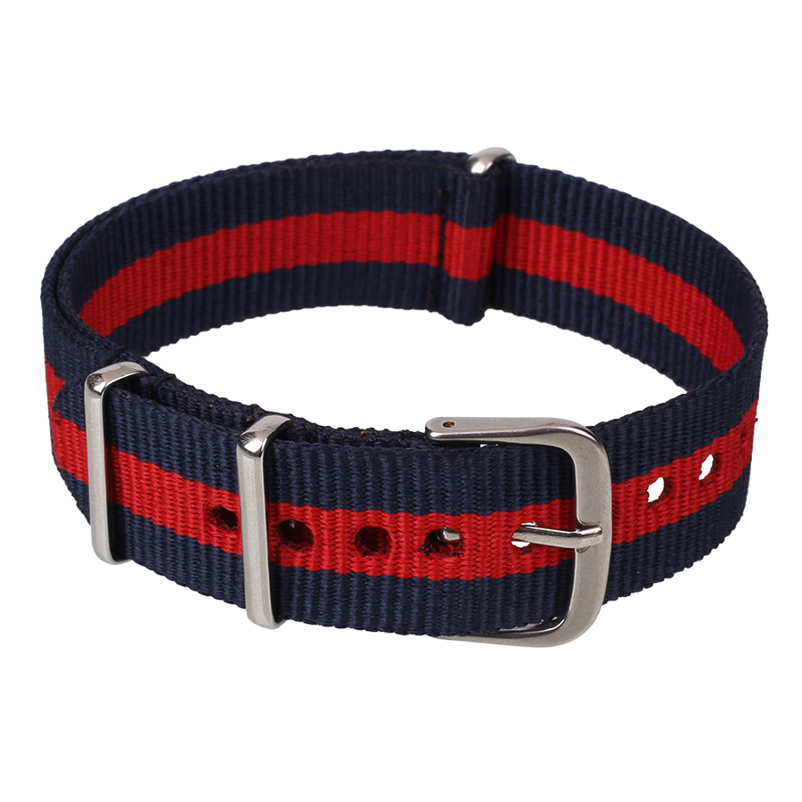 Fashion Military Nylon Wrist Watch Band Strap Watch Stainless Steel Buckle Gift