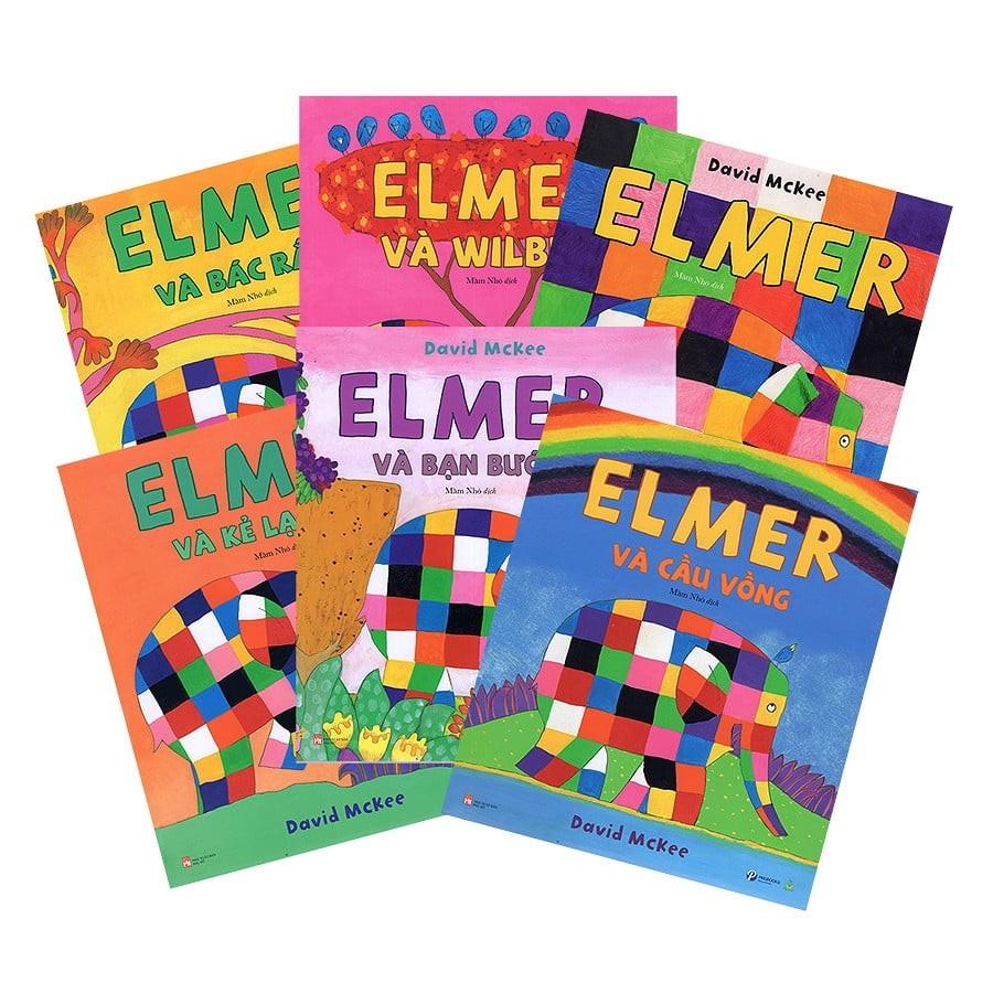 Bộ 6 cuốn Sách Elmer và những người bạn