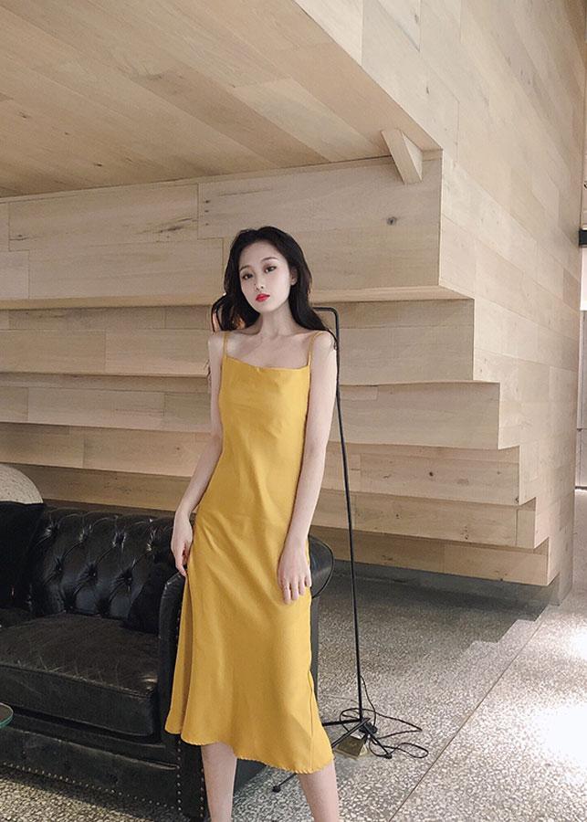 Đầm hè chất cổ điễn Pháp 2019 - D4101