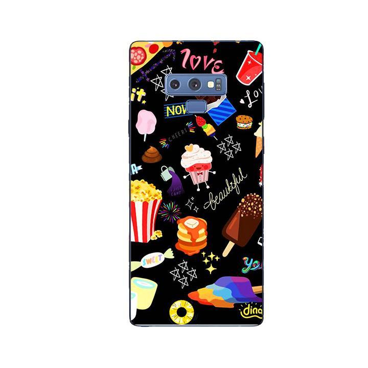 Ốp Lưng Dẻo Cho Điện thoại Samsung Galaxy Note 9 - Food