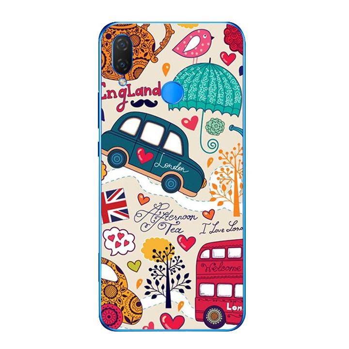 Ốp lưng dẻo cho điện thoại Huawei Y9 2019 - London 01