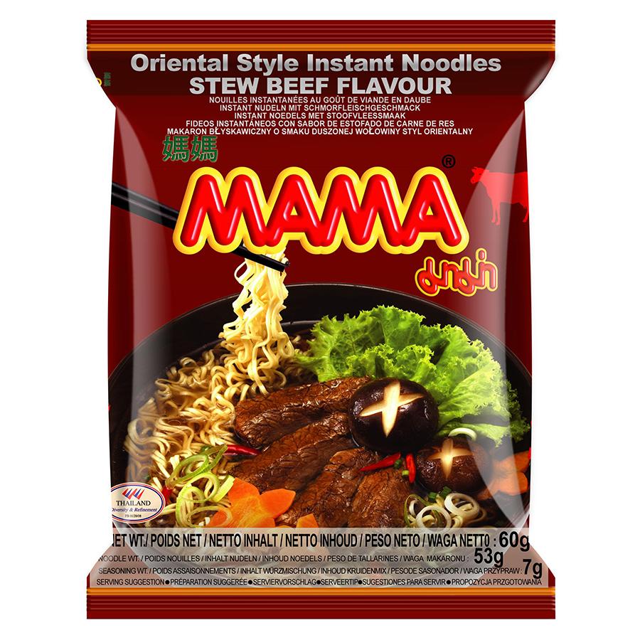 Mì Hương Thịt Bò Hầm Mama (60gr)