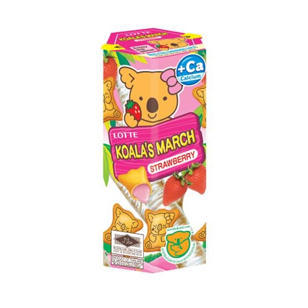 Lốc 6 Bánh Gấu Lotte Koala