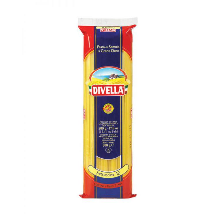 MÌ Dẹp Divella Fecttuccine Số 12 gói 500g