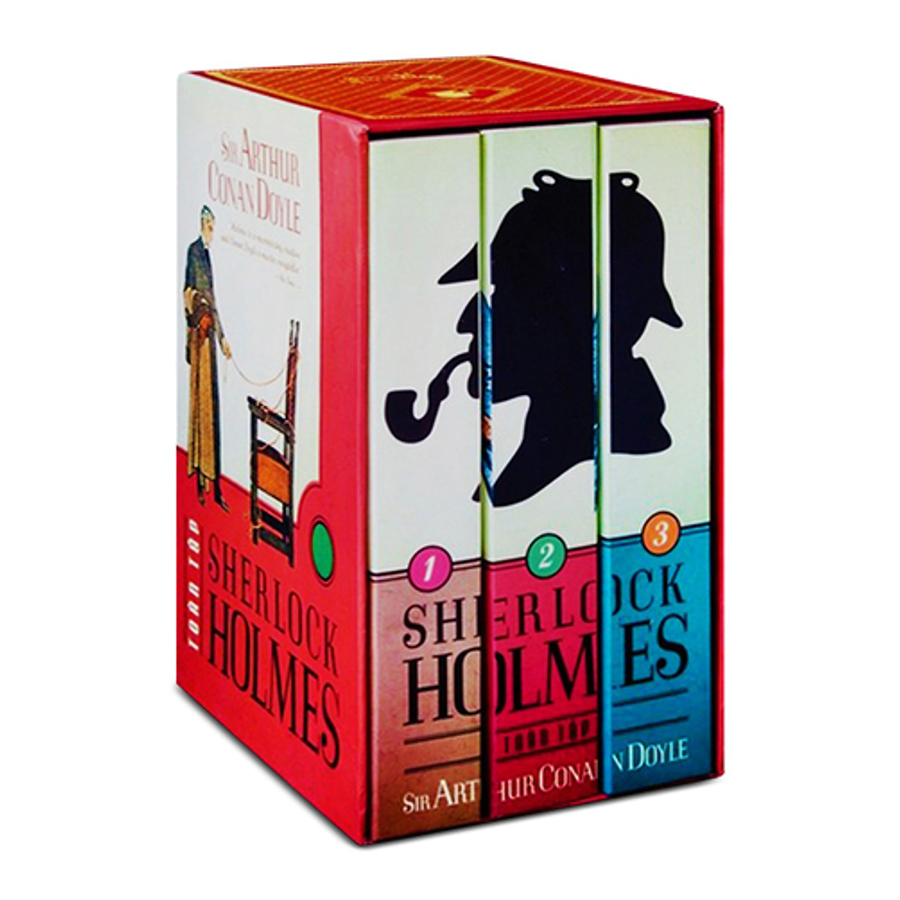Trọn Bộ 3 Tập Sherlock Holmes Toàn Tập (Tái Bản)