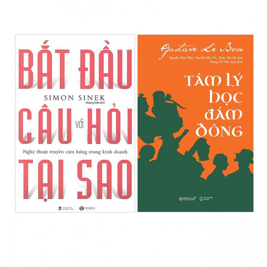 Combo  Bắt Đầu Với Câu Hỏi Tại Sao? ( Tái Bản ) + Tâm Lý Học Đám Đông (Tái Bản 2018) - 782336 , 3179269340299 , 62_15084893 , 212000 , Combo-Bat-Dau-Voi-Cau-Hoi-Tai-Sao-Tai-Ban-Tam-Ly-Hoc-Dam-Dong-Tai-Ban-2018-62_15084893 , tiki.vn , Combo  Bắt Đầu Với Câu Hỏi Tại Sao? ( Tái Bản ) + Tâm Lý Học Đám Đông (Tái Bản 2018)