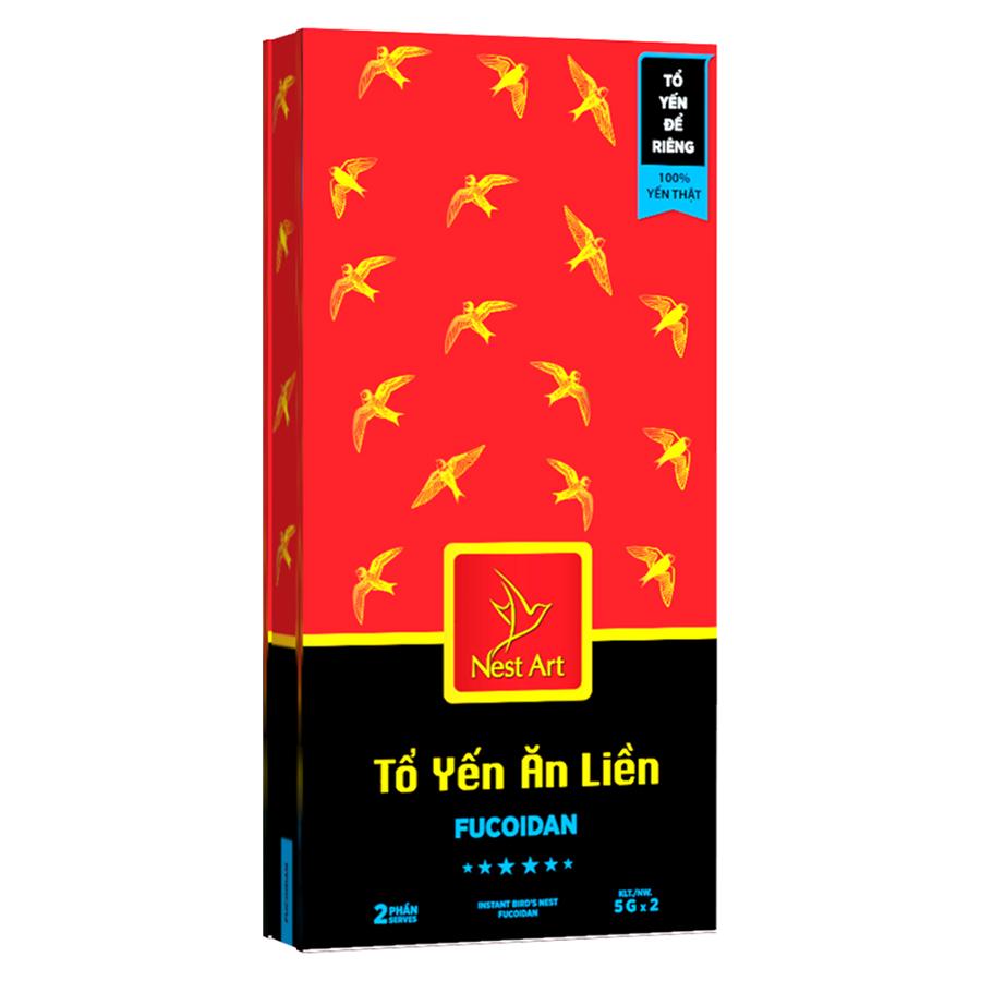 Tổ Yến Ăn Liền Fucoidan Nest Art - 1199406 , 9447159517217 , 62_5331251 , 560000 , To-Yen-An-Lien-Fucoidan-Nest-Art-62_5331251 , tiki.vn , Tổ Yến Ăn Liền Fucoidan Nest Art