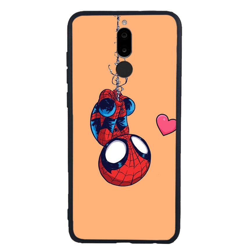 Ốp Lưng Viền TPU cho điện thoại Huawei Nova 2i - Spiderman 02