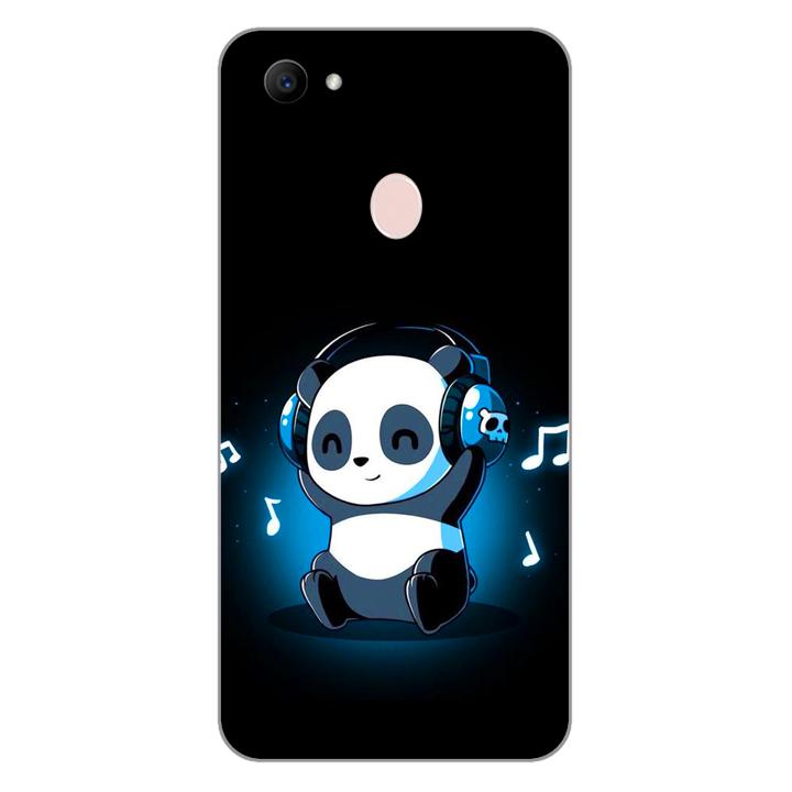 Ốp lưng dẻo cho điện thoại Oppo F7_Panda 05