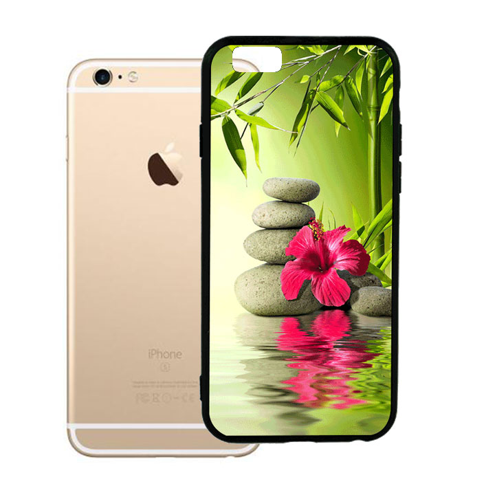 Ốp lưng viền TPU cho Iphone 6 Plus - Nature 01