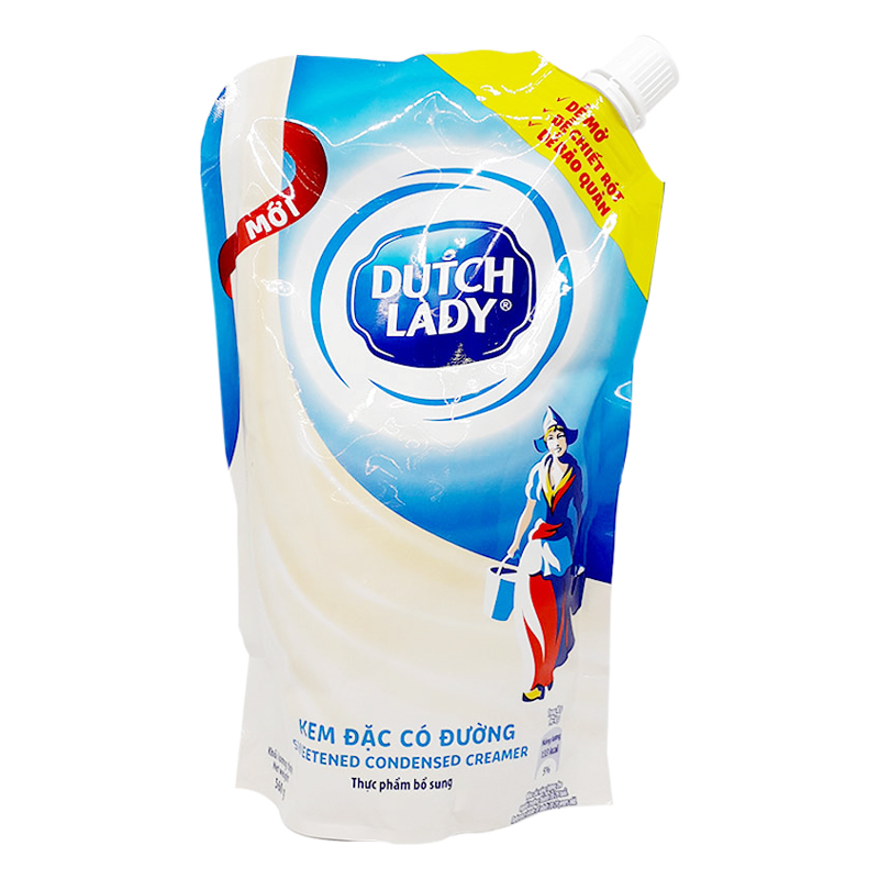 Sữa Đặc Có Đường Dutch Lady Túi Thông Minh (560g)
