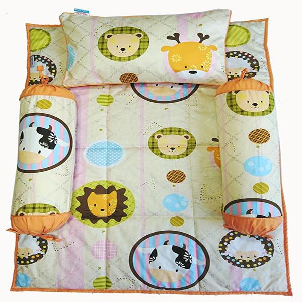 Bộ 4 Món Ga Gối Sleep Baby Shinning Zoo - F181 - 7483599 , 8126747958809 , 62_15836680 , 595000 , Bo-4-Mon-Ga-Goi-Sleep-Baby-Shinning-Zoo-F181-62_15836680 , tiki.vn , Bộ 4 Món Ga Gối Sleep Baby Shinning Zoo - F181