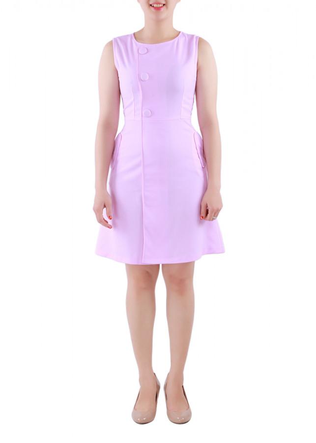 Đầm Nữ Ngực Phối Nút Bọc Zerasy Fashion - 1349175 , 7838256608243 , 62_8121321 , 299000 , Dam-Nu-Nguc-Phoi-Nut-Boc-Zerasy-Fashion-62_8121321 , tiki.vn , Đầm Nữ Ngực Phối Nút Bọc Zerasy Fashion