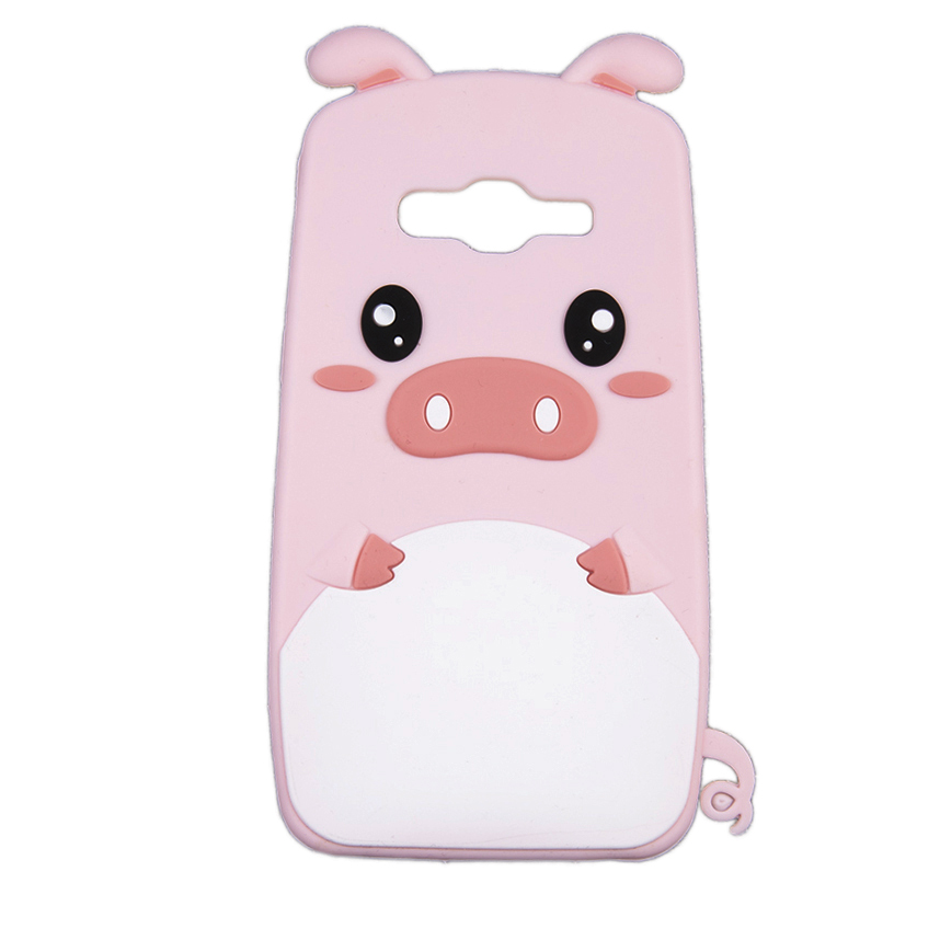 Ốp lưng cho Samsung J2 Prime heo hồng