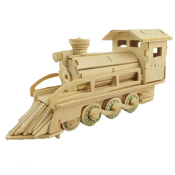 Mô hình lắp ghép 3D bằng gỗ Xe máy gặt