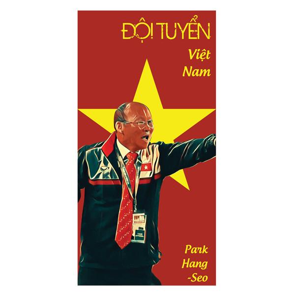 Set 6 Chiếc Lì Xì Park Hang Seo - Đội Tuyển Việt Nam
