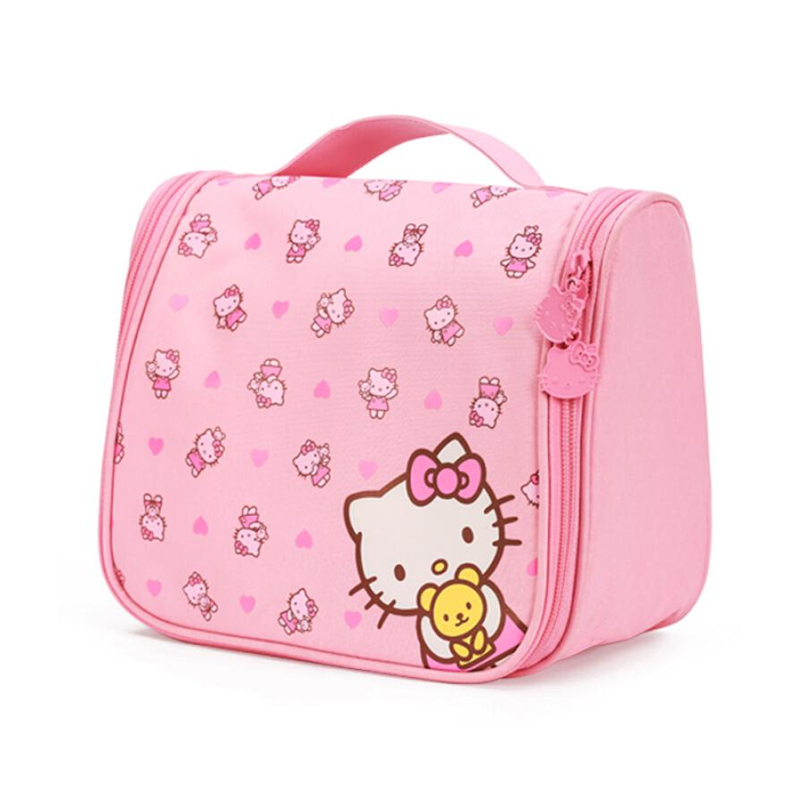 Blue Orange HELLO KITTY Hello Kitty Travel Makeup Bag Washing Storage Bag Cute Pink Waterproof Breathable Double Zipper - 1610753 , 9730162124702 , 62_9089378 , 395000 , Blue-Orange-HELLO-KITTY-Hello-Kitty-Travel-Makeup-Bag-Washing-Storage-Bag-Cute-Pink-Waterproof-Breathable-Double-Zipper-62_9089378 , tiki.vn , Blue Orange HELLO KITTY Hello Kitty Travel Makeup Bag Washi