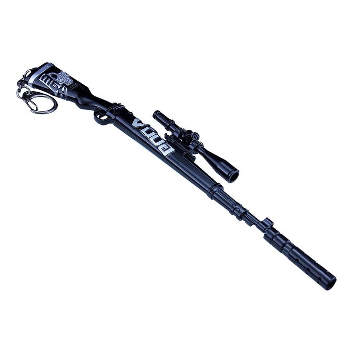 Móc khóa mô hình Game PUBG - K98 GODV - 18cm