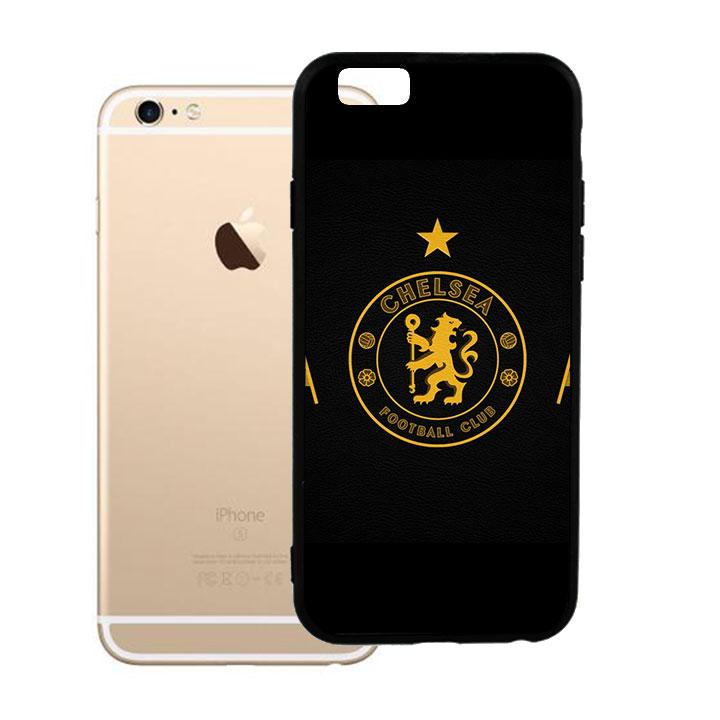 Ốp lưng viền TPU cao cấp dành cho iPhone 6 Plus - Clb Chelsea 03
