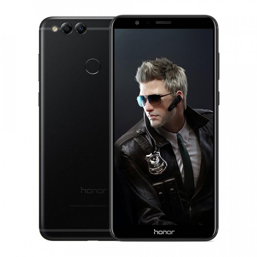 Huawei Honor 7X Face ID Mobile Phone Bezel-less 5.93 inch 2160x1080P 4GB 32GB Octa Core Dual Rear Cameras 3340mAh
