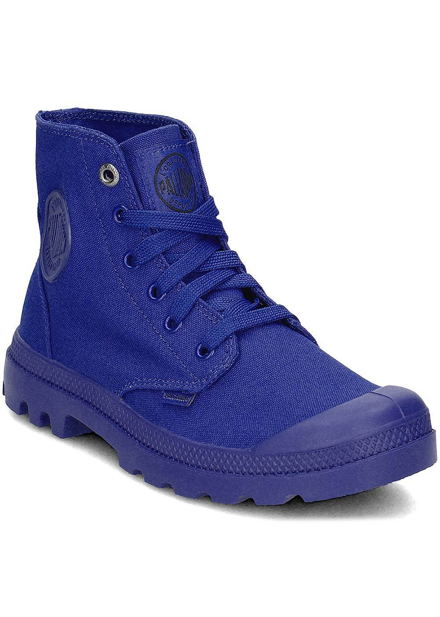 Giày Unisex Palladium Mono Chrome Royal Blue 73089-427-M