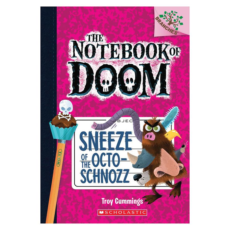 The Notebook Of Doom Book 11: Sneeze Of The Octoschnozz