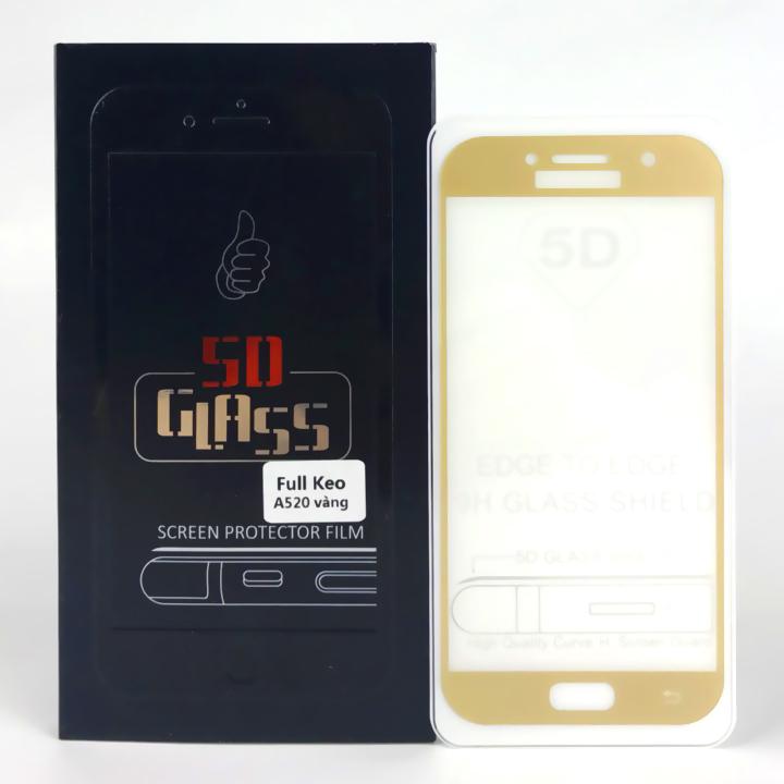 Kính Cường Lực 5D Full Màn Hình Cho Samsung Galaxy A5 2017 -  Màu Vàng - 1071757 , 3707476564834 , 62_3681845 , 170000 , Kinh-Cuong-Luc-5D-Full-Man-Hinh-Cho-Samsung-Galaxy-A5-2017-Mau-Vang-62_3681845 , tiki.vn , Kính Cường Lực 5D Full Màn Hình Cho Samsung Galaxy A5 2017 -  Màu Vàng