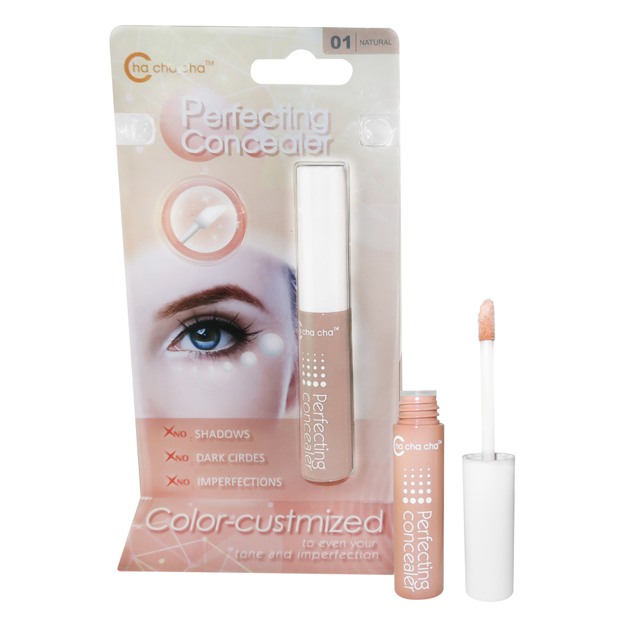 Kem che khuyến diểm hoàn hảo iLoVeggie Perfect Concealer  (2 Natural + 3 Pink)