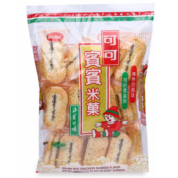 Bánh Gạo Cracker Bin Bin - Rong Biển (150g) - 1098354 , 8523846369015 , 62_3942695 , 32700 , Banh-Gao-Cracker-Bin-Bin-Rong-Bien-150g-62_3942695 , tiki.vn , Bánh Gạo Cracker Bin Bin - Rong Biển (150g)