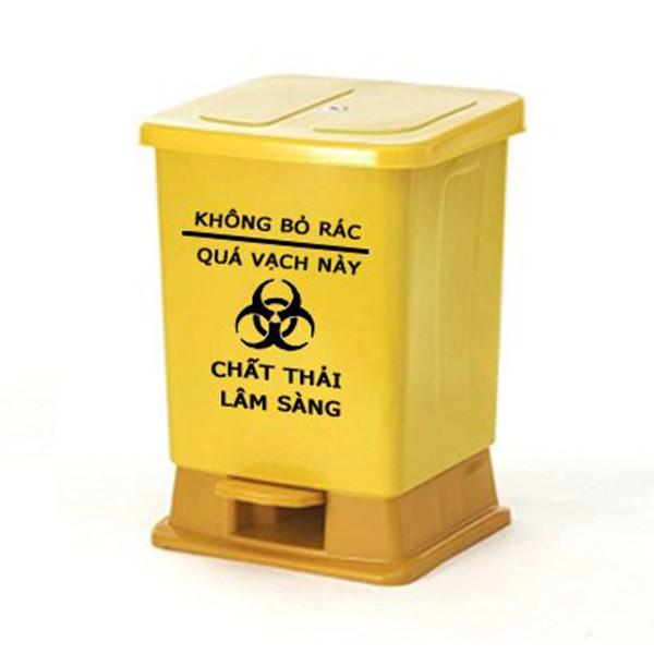 Thùng rác y tế  lây nhiễm 15 lít - 799614 , 9703381332456 , 62_13587552 , 205000 , Thung-rac-y-te-lay-nhiem-15-lit-62_13587552 , tiki.vn , Thùng rác y tế  lây nhiễm 15 lít